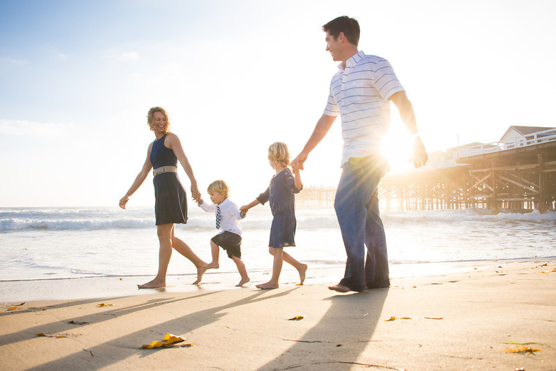 Pacific Beach Family Portraits