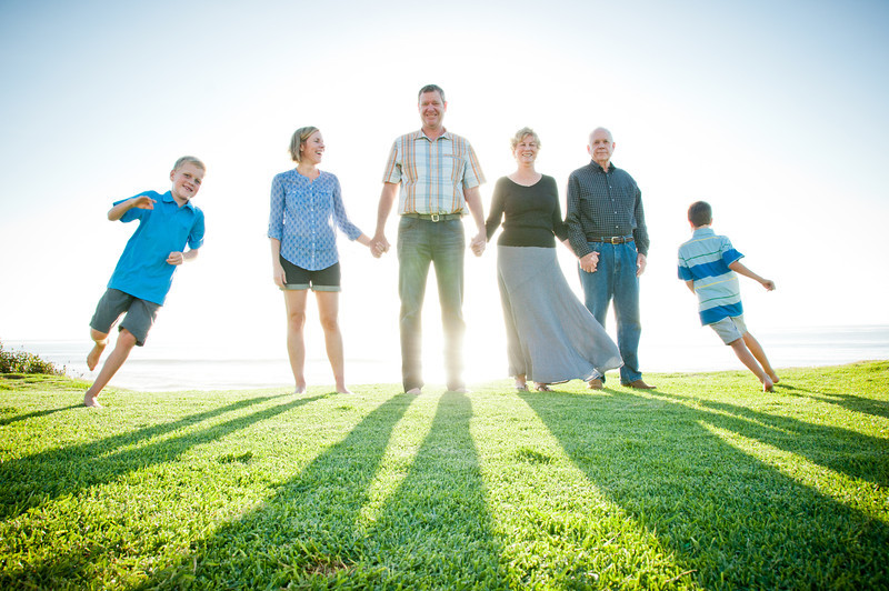 La Jolla Sunset Family Portraits