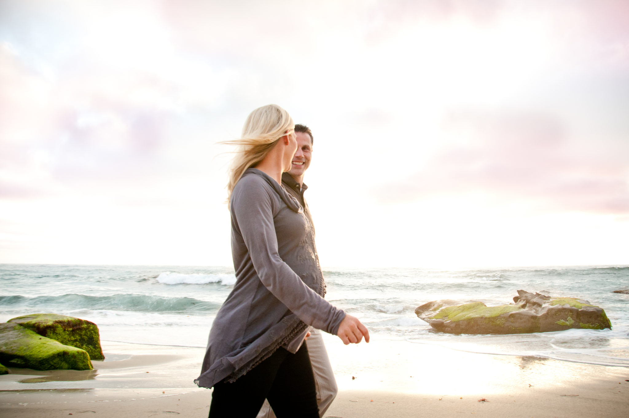 Riley Maternity La Jolla Beach Sunset-6167