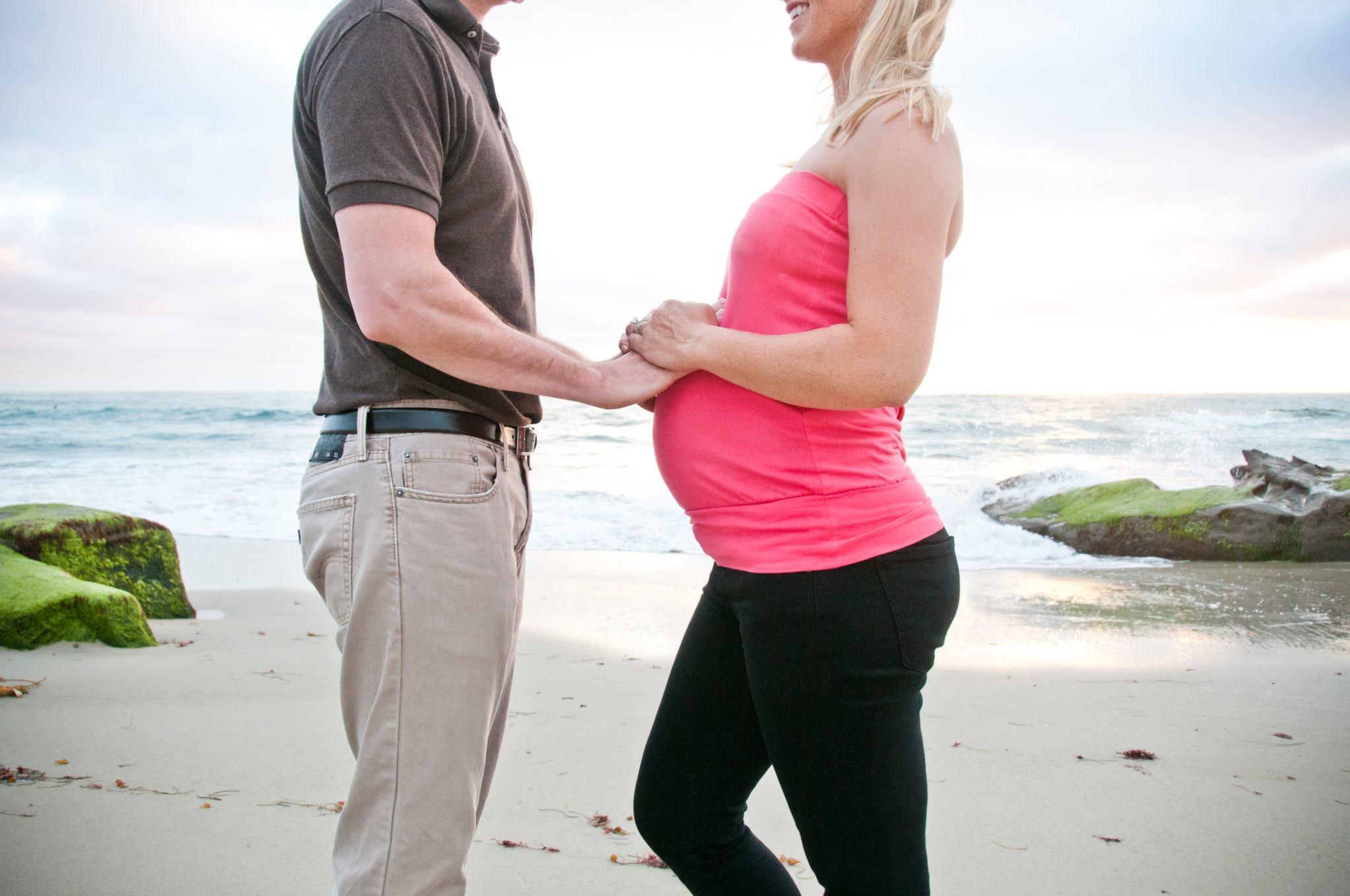 Riley Maternity La Jolla Beach Sunset-6263