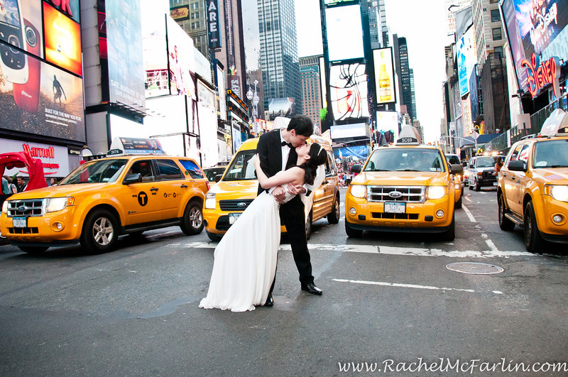 Times Square New York Wedding
