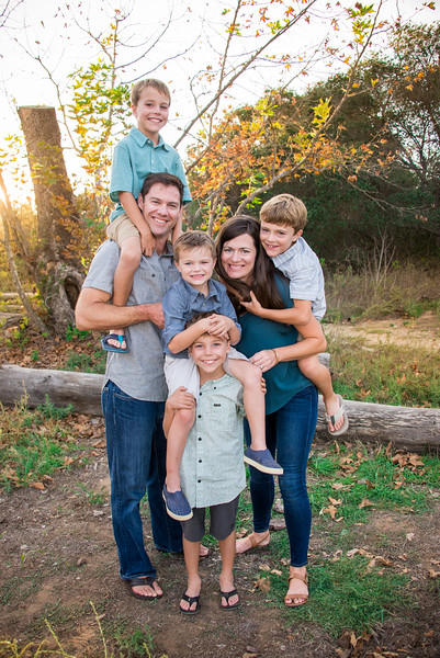 San Diego Fall Family Portraits