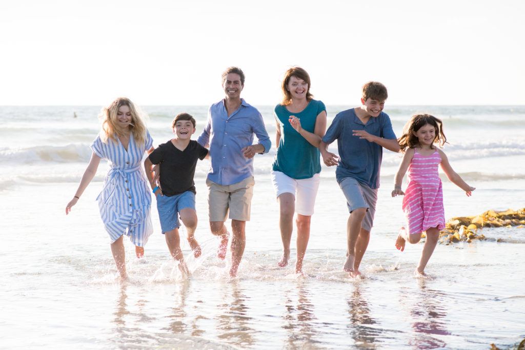 San Diego Mission Beach La Jolla Family San Diego Portraits 92037 Rachel McFarlin Photography
